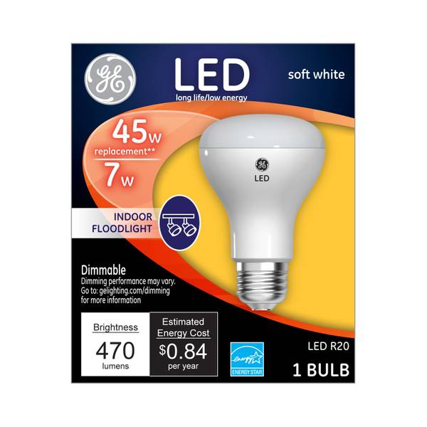 Dimmable LED RS20 Flood Light Bulb
