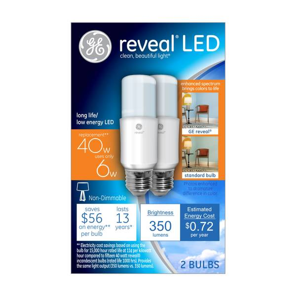 Reveal LED Bright Stik Bulb