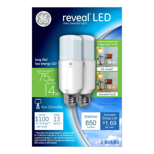 Reveal Non-Dimmable LED Bright Stik Bulb