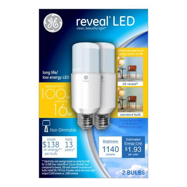Reveal LED Bulb - 2 Pack