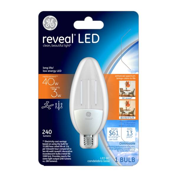 Reveal LED Light Bulb