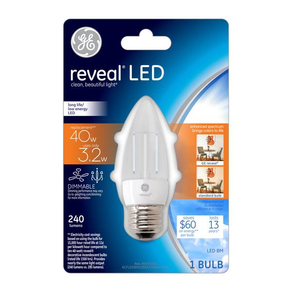 Reveal LED Dimmable Bulb