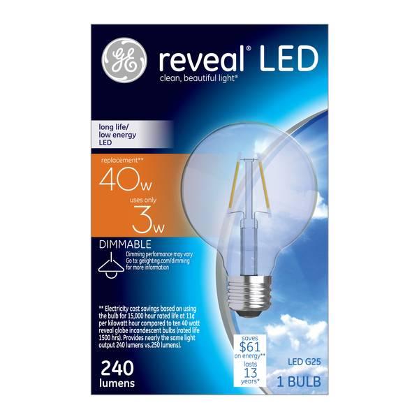 Reveal LED Bulb