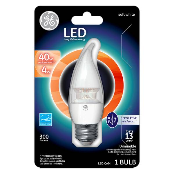 LED Cam Chandelier Bulb