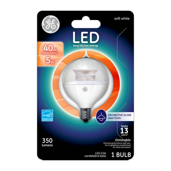 Dimmable LED G16 Bulb
