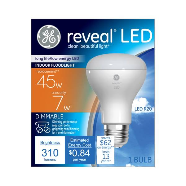 Reveal Dimmable LED Bulb