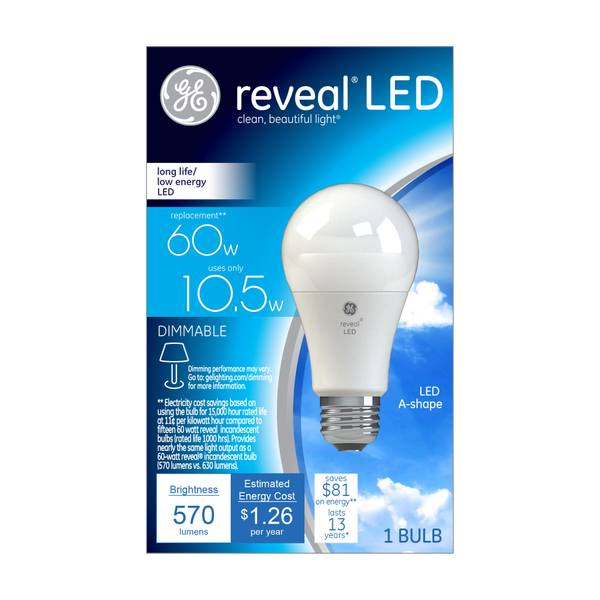Reveal A-Shape LED Bulb