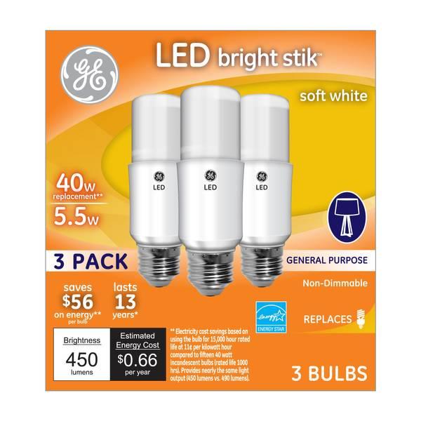 LED Bright Stik Bulb