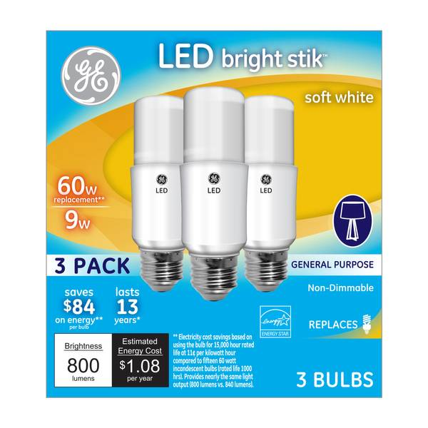 LED Bright Stik General Purpose Bulbs