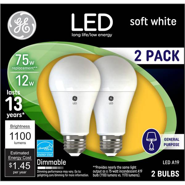 Dimmable LED A21 General Purpose Bulbs