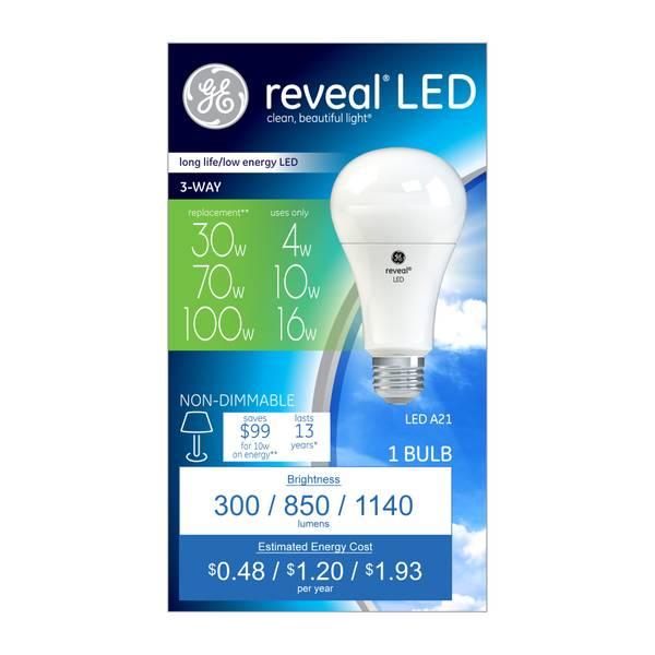 Reveal A21 LED Bulb