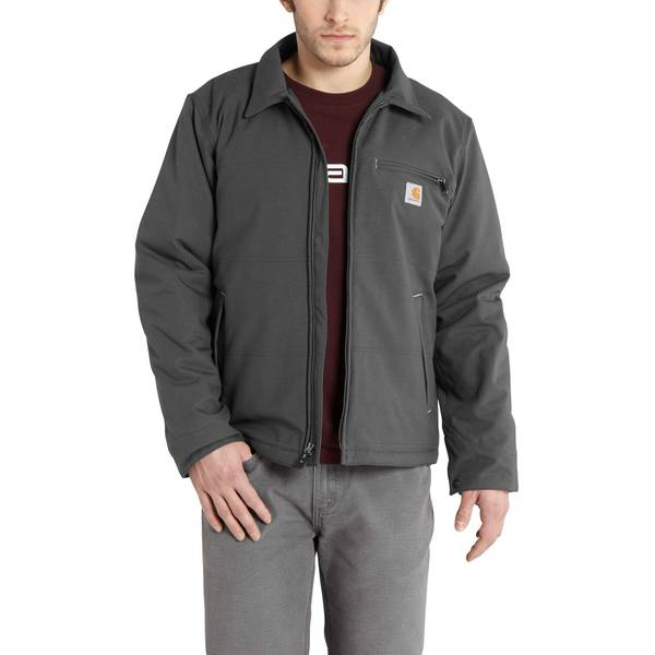 Men's Charcoal Quick Duck Livingston Jacket