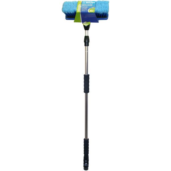 Telescoping Handle & 10 Flow-Thru Wash Brush