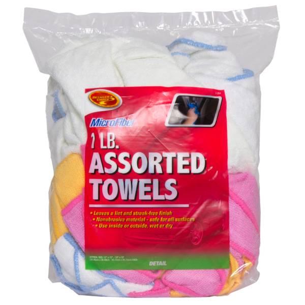Microfiber Towels Assortment