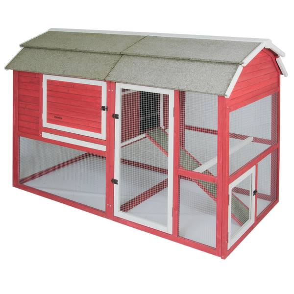 Old Red Barn II Chicken Coop