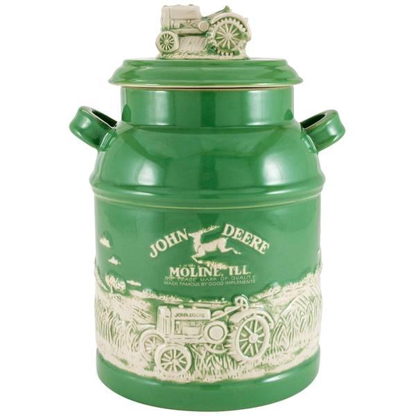 John Deere Milk Can Cookie Jar