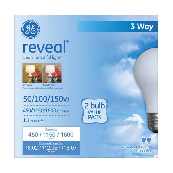 Reveal 3-Way Bulb