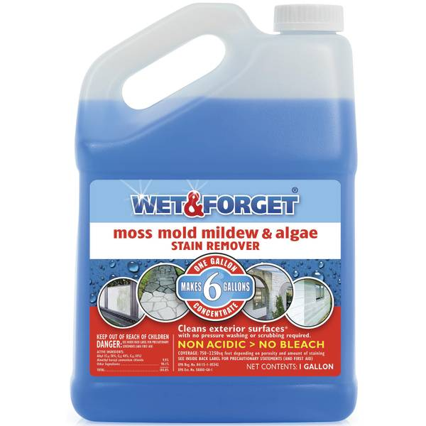 Wet Amp Forget Moss Mold Mildew Amp Algae Stain Remover