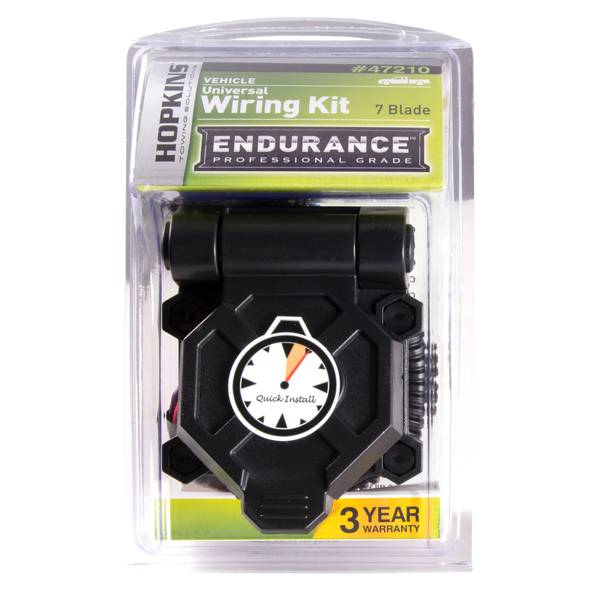 Endurance Universal Quick-Install 7 Blade Wiring Kit