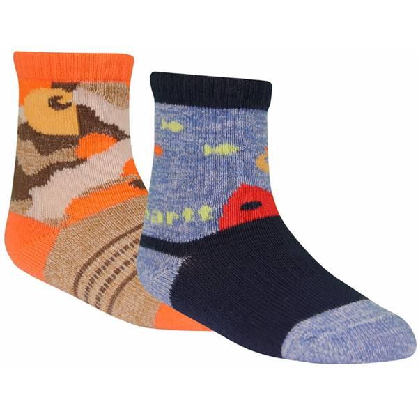 Carhartt Baby Boys' 2-pack Crew Socks