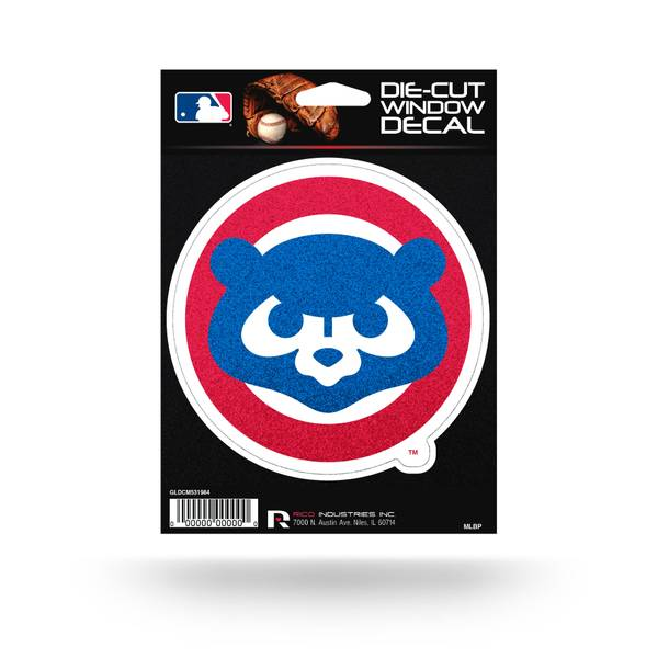 Chicago Cubs Bling Die Cut Decal