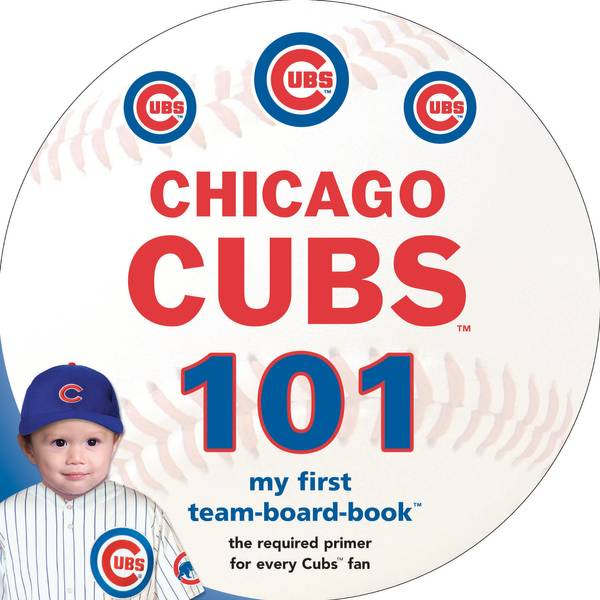 Chicago Cubs 101 Children's Book