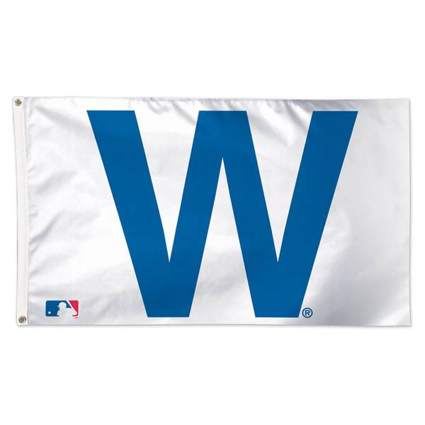"Chicago Cubs Deluxe ""W"" Flag"