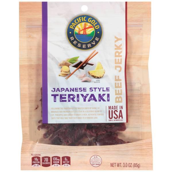 Japanese Teriyaki Beef Jerky
