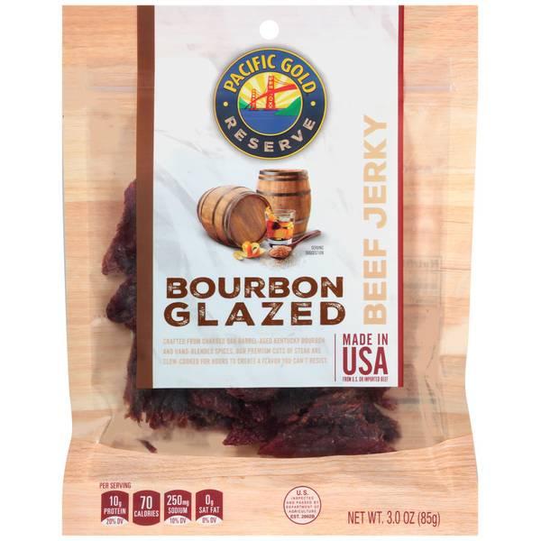 Bourbon Glazed Jerky