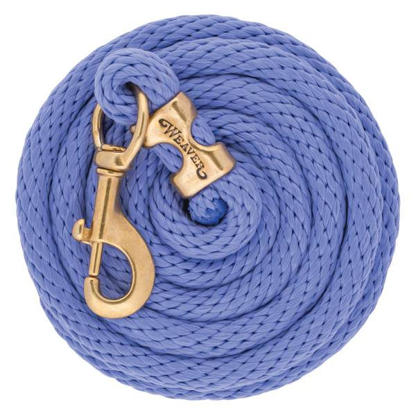 10' Lavender Poly Lead Rope