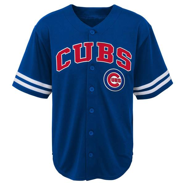 Big Boys' Short Sleeve Cubs Jersey