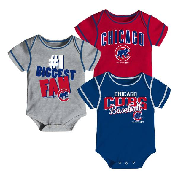 Baby Boys' 3-pack Cubs Bodysuits