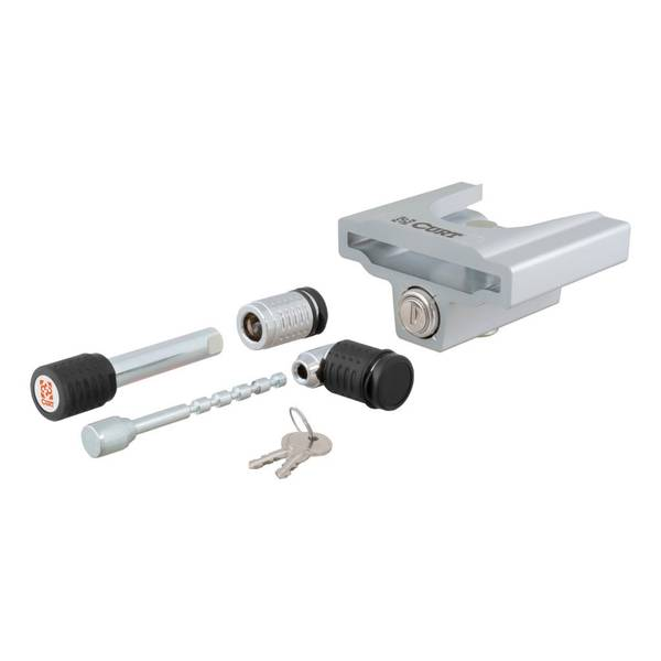 Hitch & Coupler Lock Combo