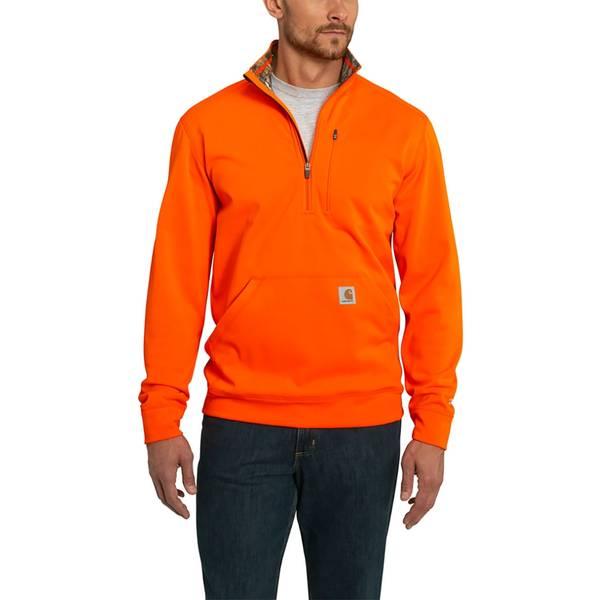 Mock Neck Half Zip Sweatshirt