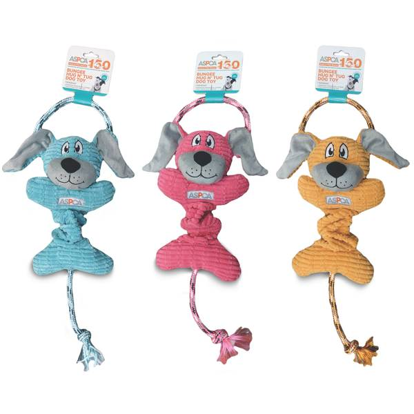 Bungee Dog Hug N' Tug Dog Toy Assortment