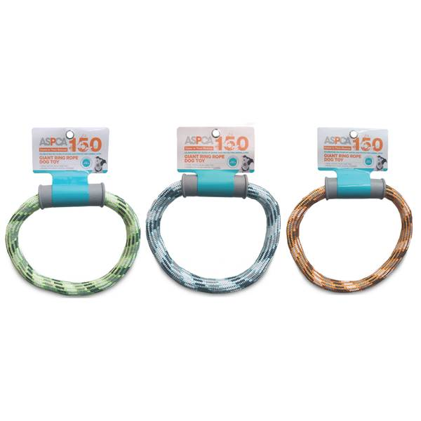 Giant Ring Rope Dog Toy Assortment