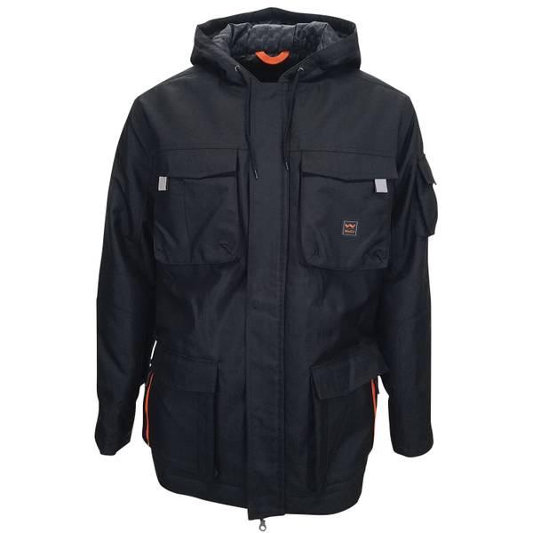 Modern Work Hooded Coat