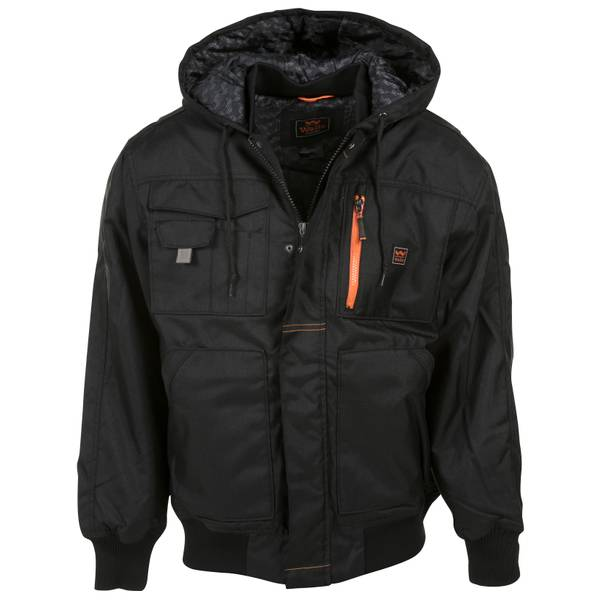Modern Work Hooded Jacket