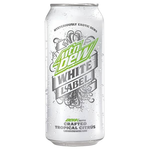 16 oz Mountain Dew White Label