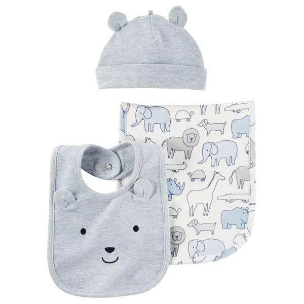 Baby Boys' 3-Piece Accessory Set