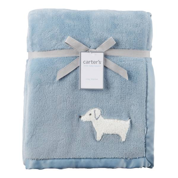 Baby Boys' Puppy Blanket