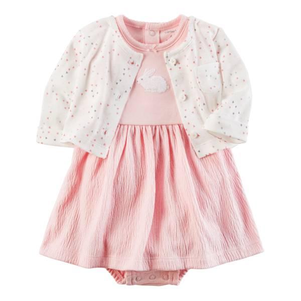 Baby Girls' 2-Piece Dress Set