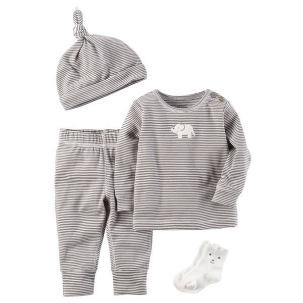 Neutral Baby's 4-Piece Layette Set