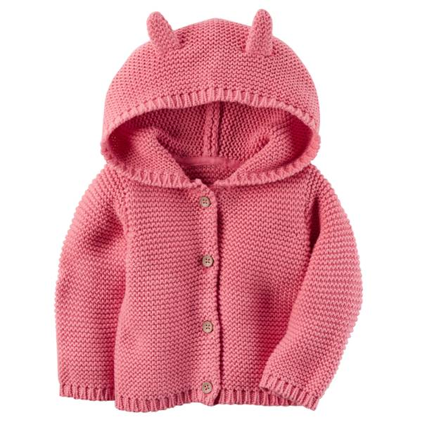 Baby Girls' Knit Cardigan