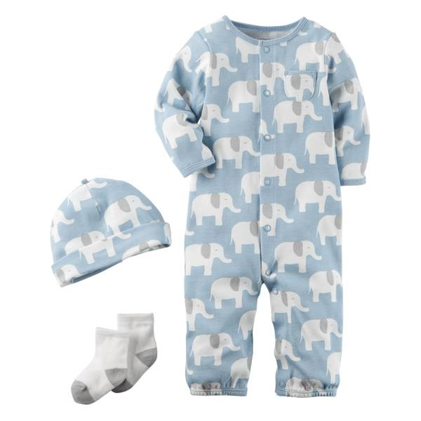 Baby Boys' 3-Piece Layette Set