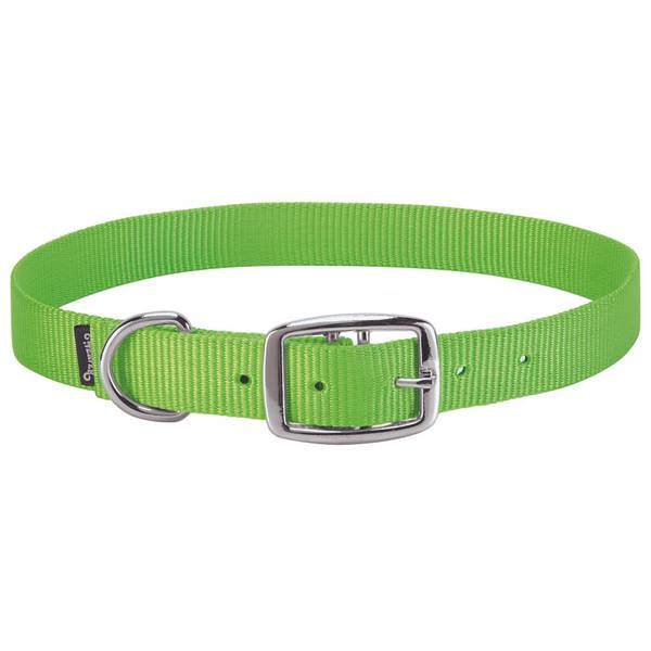 Lime Green Goat Collar