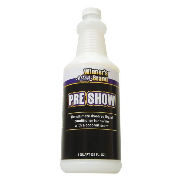 Pre Show Liquid Conditioner