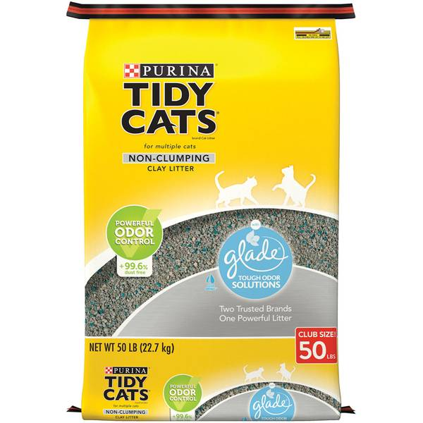 Glade Tough Odor Solutions Non-Clumping Clay Litter
