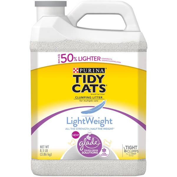 LightWeight with Glade Tough Odor Solutions Clumping Cat Litter