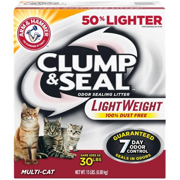 Clump & Seal Odor Sealing Litter